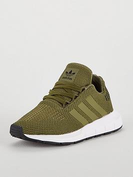 adidas-originals-swift-run-childrens-trainer-khaki