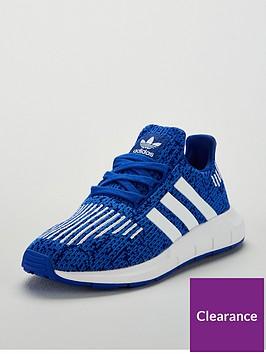 0245d07a52390 adidas Originals Swift Run Childrens Trainer - Blue White ...