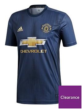 27ceeb34d4f adidas Manchester United Mens 18 19 3rd Shirt