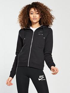 nike-sportswear-air-full-zipnbsphoodie-blacknbsp