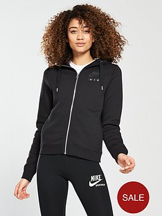 nike-sportswear-air-full-zipnbsphoodie-blacknbsp