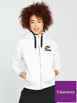 nike-sportswear-air-fznbsphoodie-whitenbsp