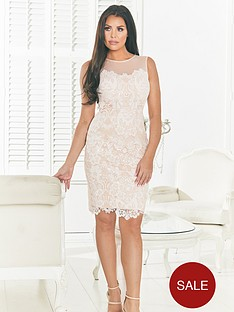jessica-wright-mesh-top-lace-detail-bodycon-dress