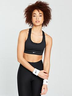 c26fb6ac21 Nike Training Firm Support Pacer Bra - Black