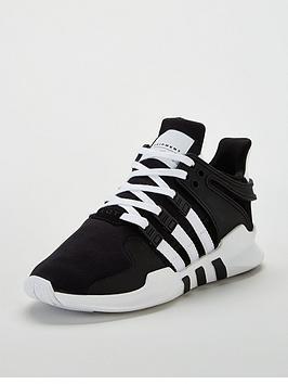 adidas-originals-eqt-support-junior-trainer-blackwhite