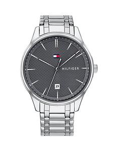 tommy-hilfiger-tommy-hilfiger-dark-grey-dial-stainless-steel-mens-bracelet-watch