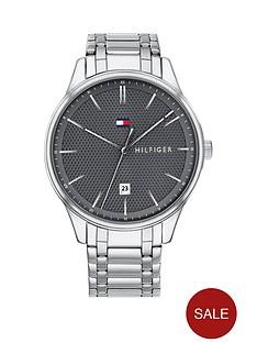tommy-hilfiger-tommy-hilfiger-dark-grey-dial-stainless-steel-mens-bracelet-watch