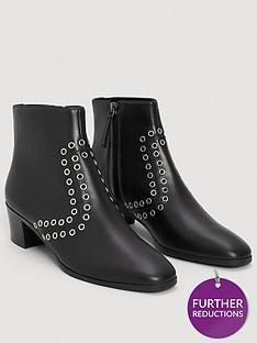 mango-candem-stud-ankle-boots-black