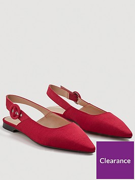 mango-dakota-slingback-flat-pointed-shoes-geranium