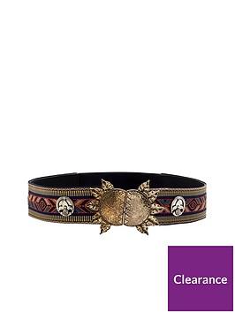 mango-embroidered-belt