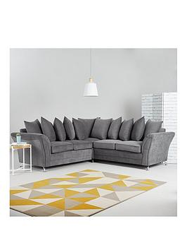 Very Dury Fabric Corner Group Scatter Back Sofa Picture