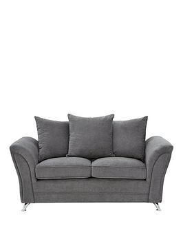 Very Dury Fabric 2 Seater Scatter Back Sofa Picture