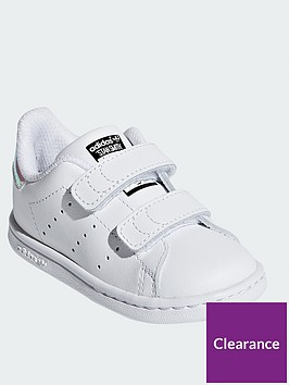 adidas-originals-stan-smith-infant-trainer-whiteiridescent