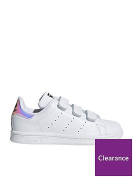 adidas-originals-stan-smith-childrens-trainer-whiteiridescentnbsp