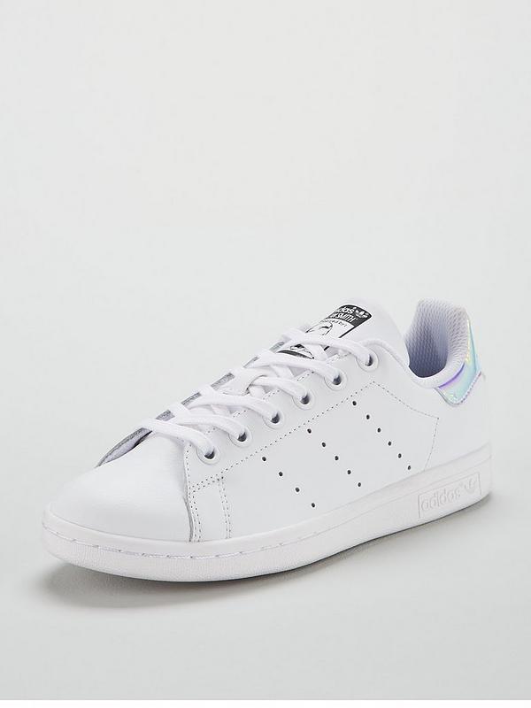 adidas stan smith bianca iridescent