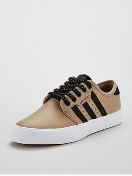 adidas-originals-seeley-childrens-trainer-khakiblacknbsp