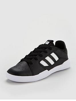 adidas-originals-vrx-low-childrens-trainer-blackwhitenbsp