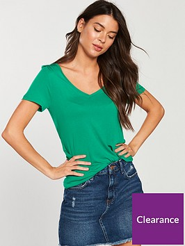 v-by-very-premium-v-neck-t-shirt-apple-green