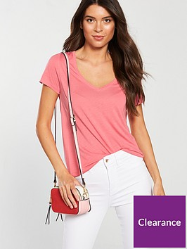 v-by-very-premium-v-neck-t-shirt-bubblegum-pink