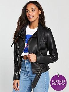 v-by-very-unique-tie-knot-biker-jacket