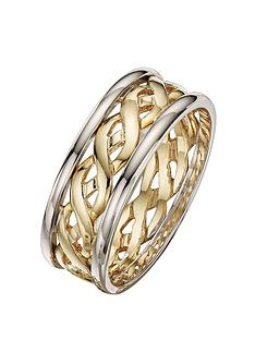 love-gold-9-carat-2-colour-gold-celtic-wedding-band-6mm