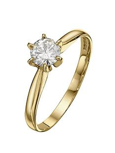 moissanite-18-carat-50-point-solitaire-ring