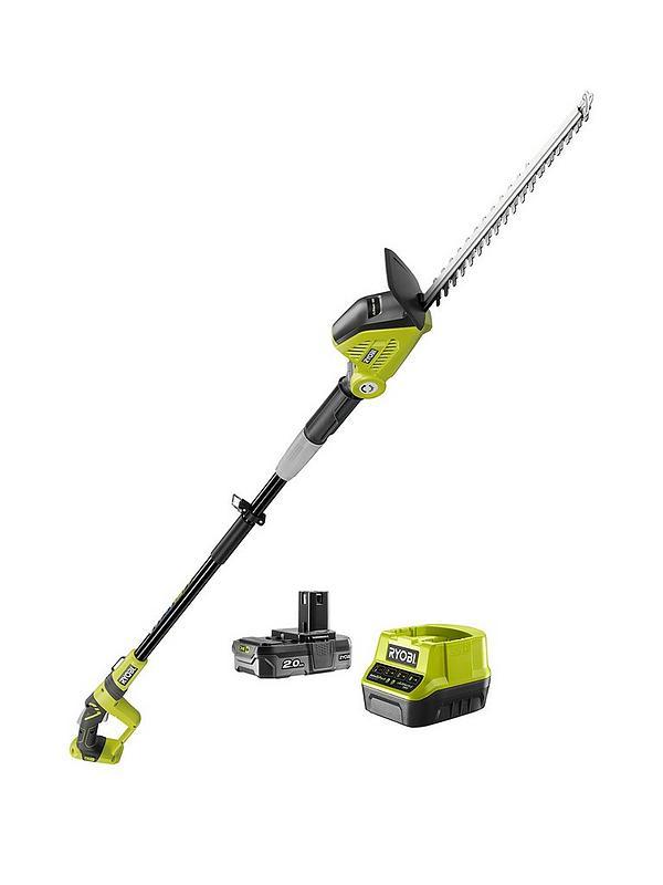 RPT184520 18V ONE+ Cordless 45cm Pole Hedge Trimmer Starter Kit (1 x 2 0Ah)