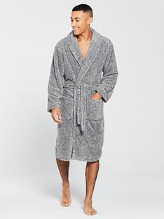 v-by-very-v-by-very-fleck-supersoft-robe-grey