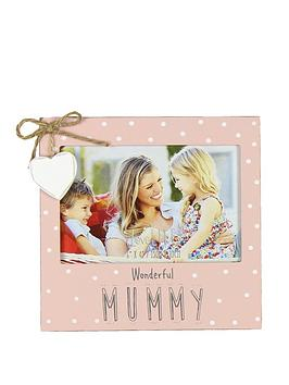 love-life-photo-frame-6-x-4-inch-wonderful-mummy