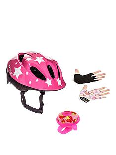 sport-direct-sport-direct-pink-kids-bicycle-safety-set