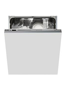 Hotpoint   Ltf8B019Uk 13-Place Full Size Integrated Dishwasher With Quick Wash - Graphite - Dishwasher Only