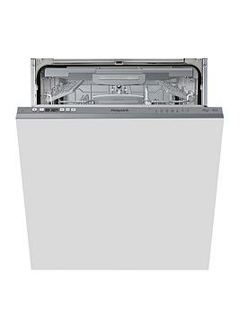 Hotpoint Hotpoint Hic3C26Wf 14-Place Full Size Integrated Dishwasher With  ... Picture
