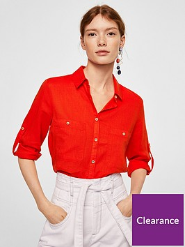 mango-wood-blouse-bright-red