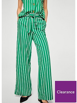 mango-miami-striped-trouser-green