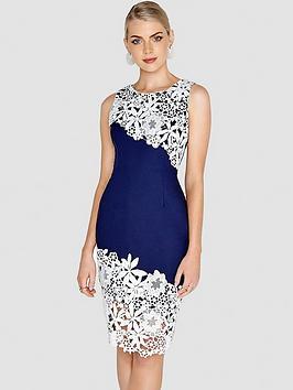 paper-dolls-contrast-crochet-lace-dress-navywhite
