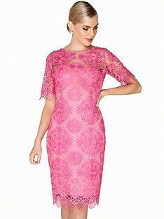 paper-dolls-crochet-detail-lace-dress-hot-pinknbsp