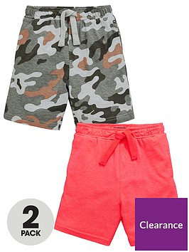mini-v-by-very-boys-2-pack-print-and-plain-jersey-shorts-multi