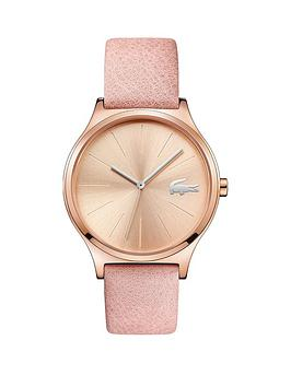 lacoste-nikita-rose-gold-pink-leather-strap-ladies-watch
