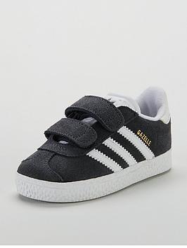 adidas-originals-gazelle-infant-trainer-dark-greynbsp