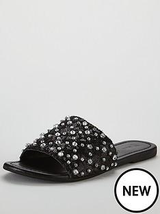 v-by-very-dubai-embellished-slider-black