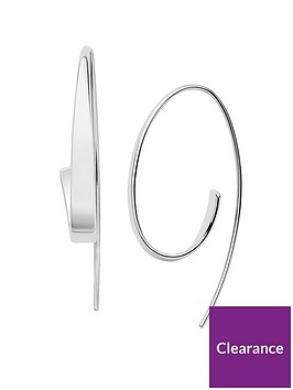skagen-skagen-ladies-silver-tone-asymetric-threader-earrings