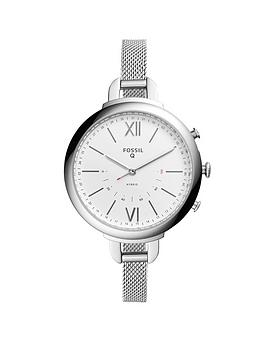 fossil-q-annette-ladies-hybrid-watch-with-stainless-steel-mesh-bracelet