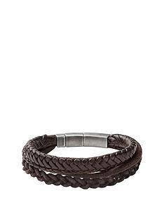 fossil-fossil-mens-tripple-stack-brown-leather-bracelet