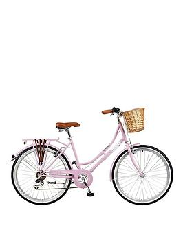 viking-belgravia-18-inch-frame-26-inch-wheel-6-speed-traditional-bike-pink