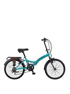 viking-vikingnbspmetropolis-13-inch-frame-20-inch-wheel-6-speed-folding-bike-blue