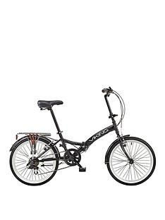 viking-vikingnbspmetropolis-13-inch-frame-20-inch-wheel-6-speed-folding-bike-black