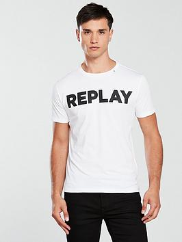 Replay Replay Logo T Shirt Picture