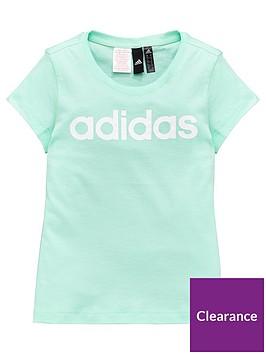 adidas-girls-linear-tee-mintnbsp