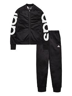 adidas-girls-tracksuit-blacknbsp