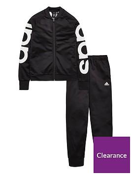 adidas-girls-tracksuit-blacknbsp